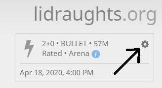 Location of edit tournament button