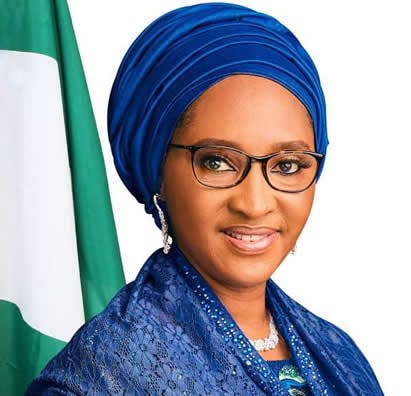 Honourable Minister of Finance, Budget and National Planning, Zainab Shamsuna Ahmed