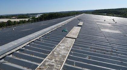 Asbestoseal asbestos roof coating by Liquasil Ltd