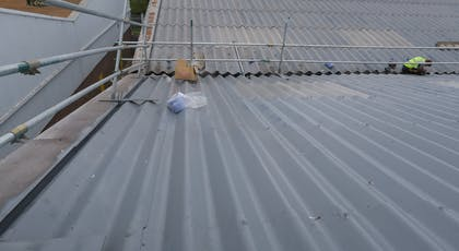 Asbestoseal 20 - BBA Approved asbestos roof coating system from Liquasil