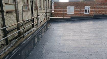 Liquasil Ultra flat roof waterproofing system