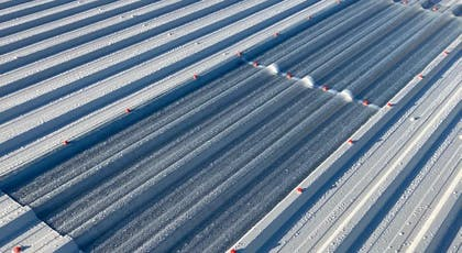 Metalseal from Liquasil Ltd metal roof coating installation