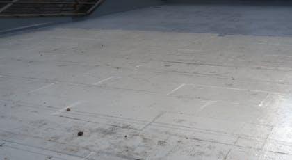 Liquasil Ultra embedment coat and GRP reinforcement mat