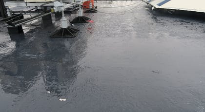 Liquasil Ultra PU flat roof waterproofing system. BBA Approvedand 25 year product warranties available.