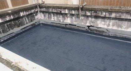 Liquasil Utra PU flat roof waterproofing system