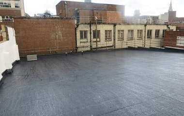 Institutional Grade Flat Roof Waterproofing