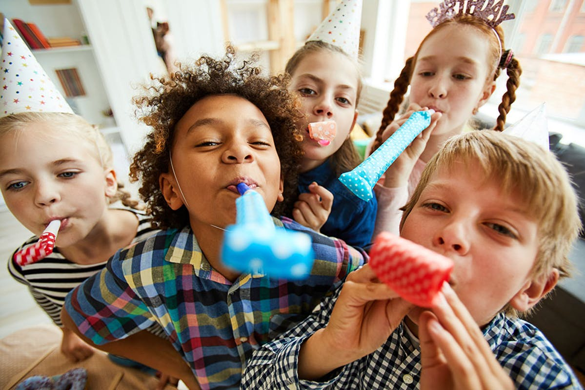 No gifts please invitation to children's party
