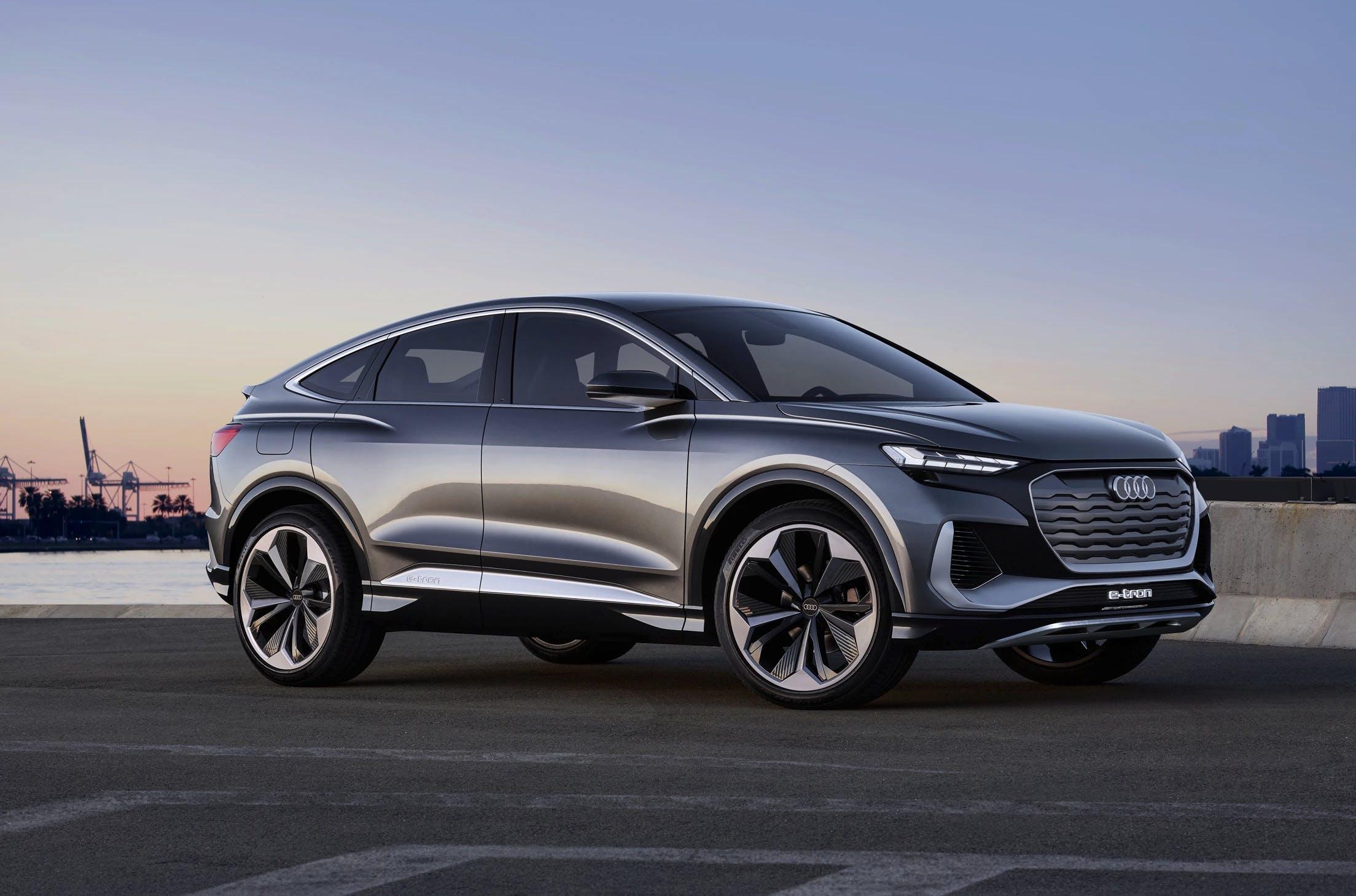 Audi e tron q4, elektrische wagen