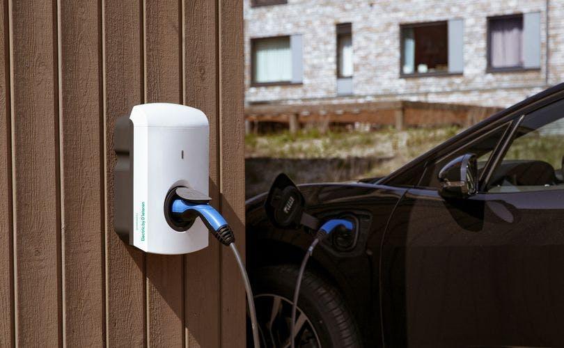 elektrische wagen thuis opladen, laadpaal aan huis