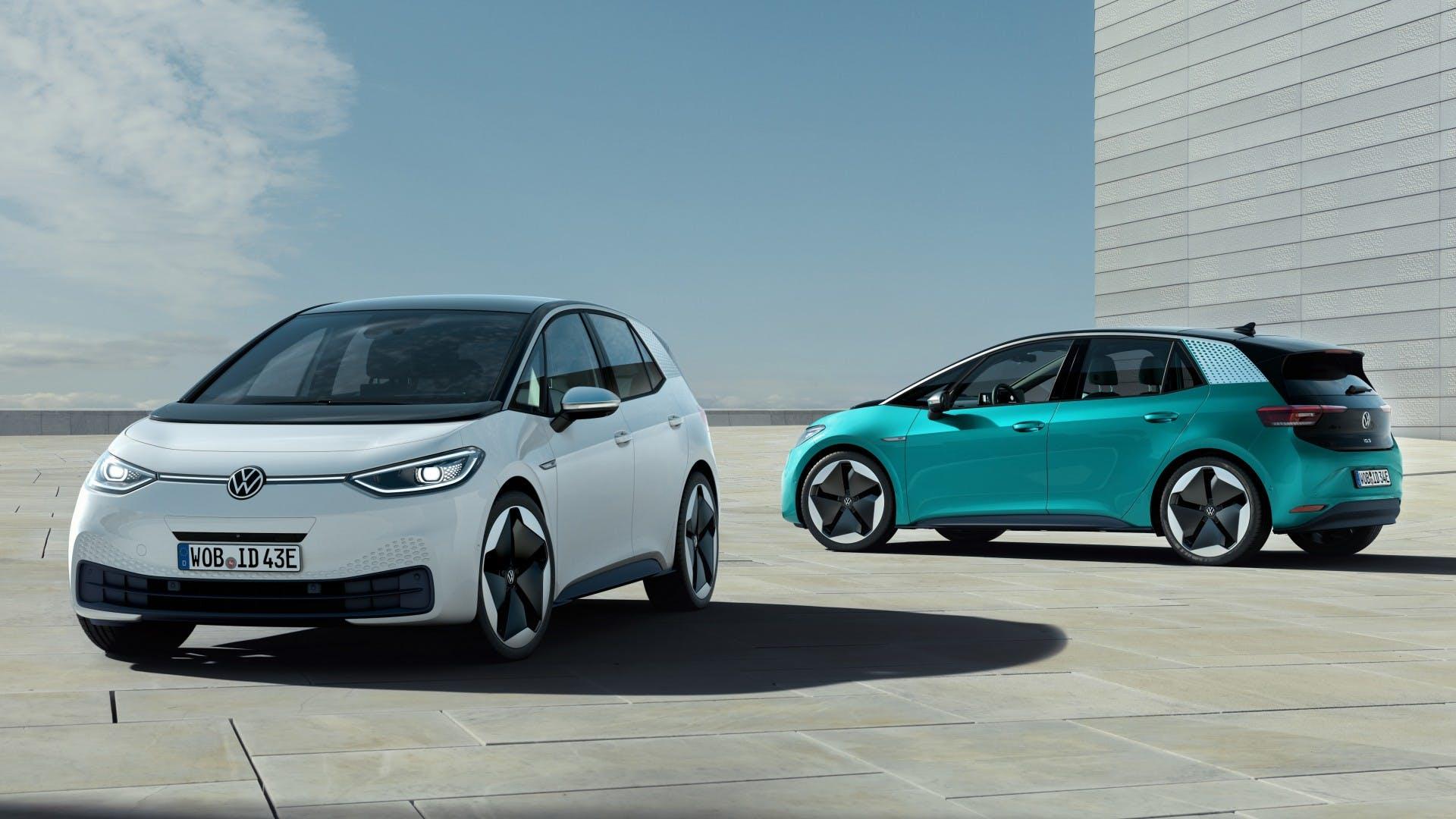Volkswagen id3, VW id3, elektrische wagen