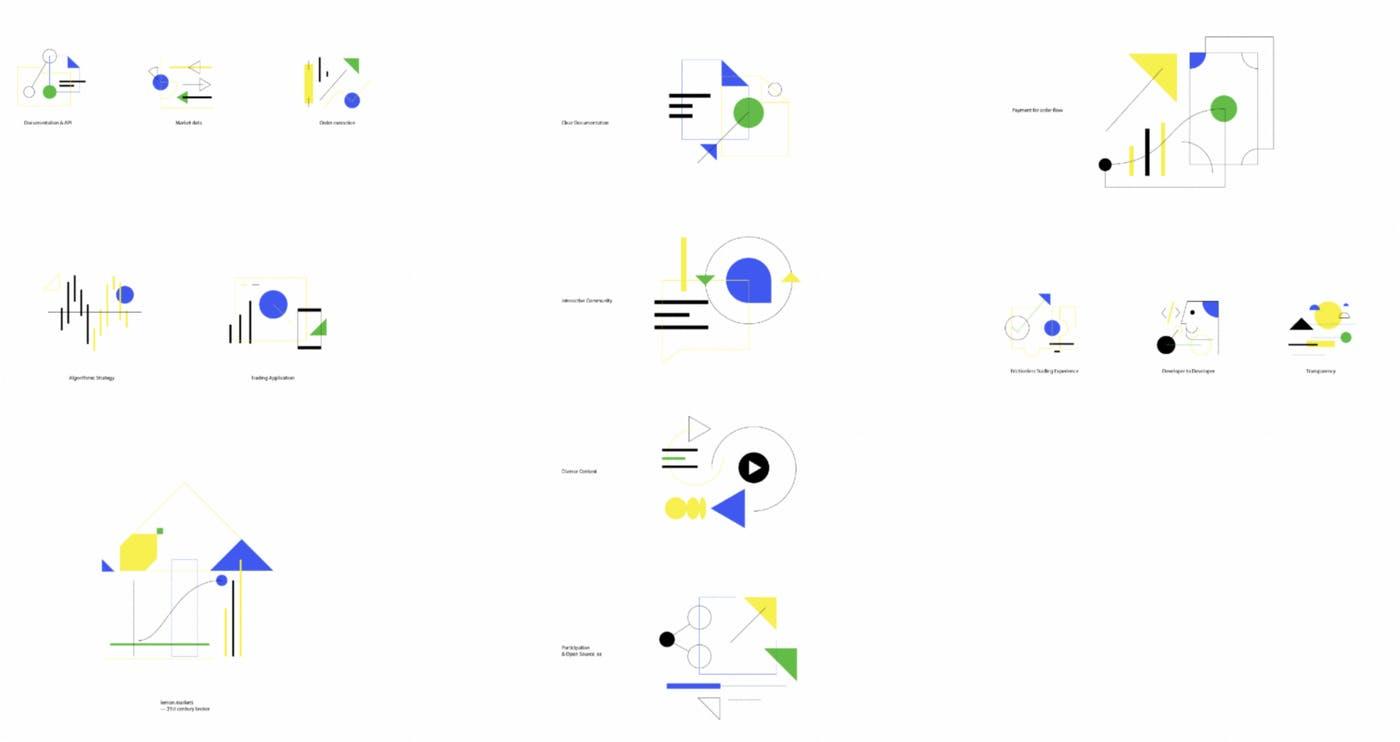lemon markets design illustrations