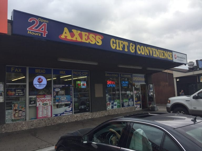 axess store front