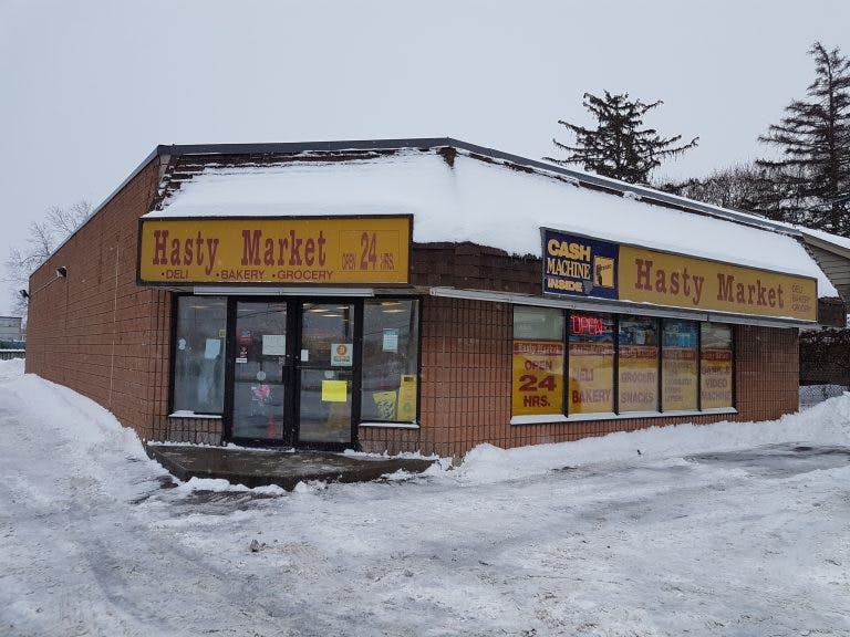hasty market store front