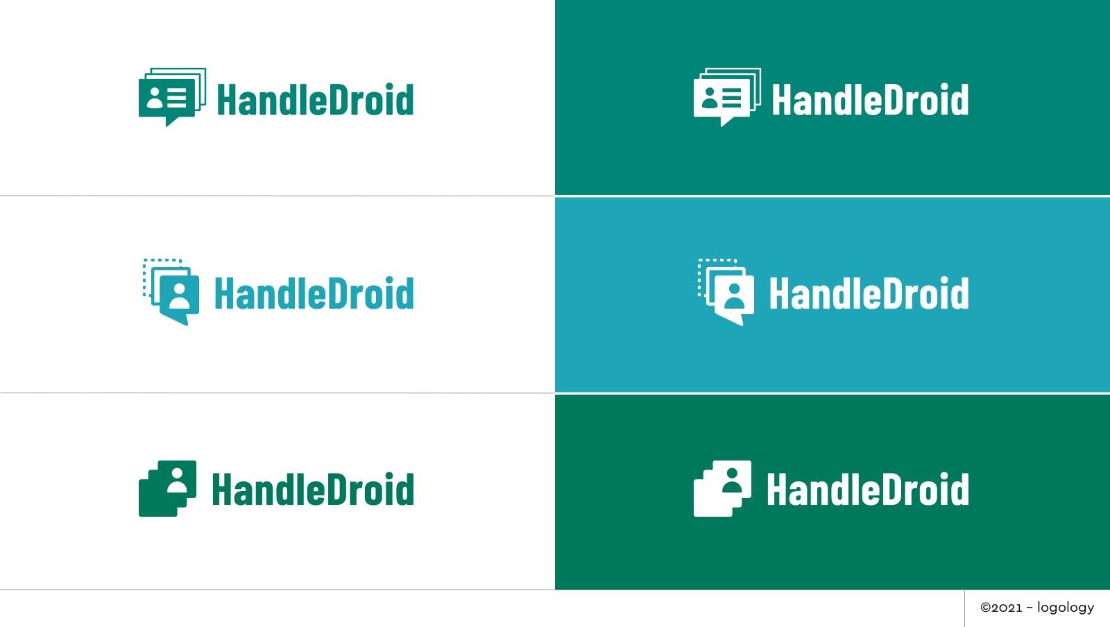 handledroid logo proposals