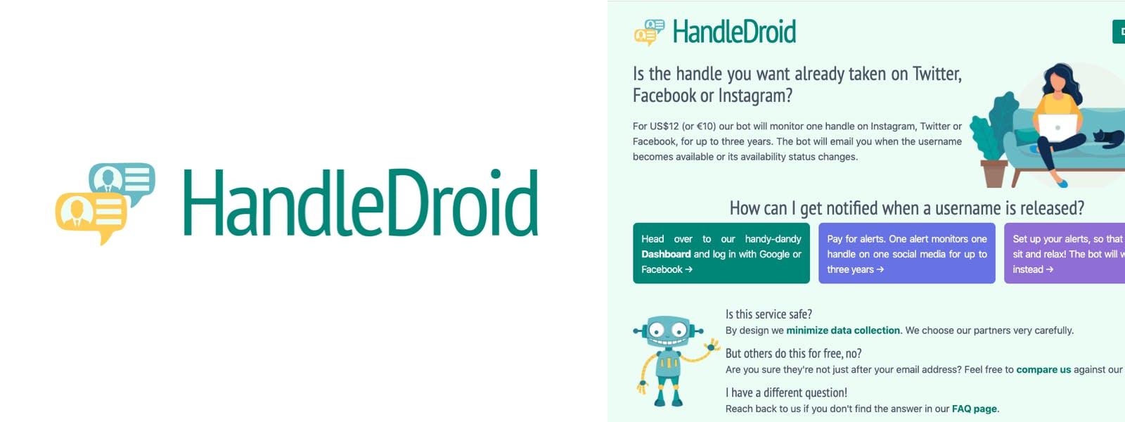 HandleDroid older brand design