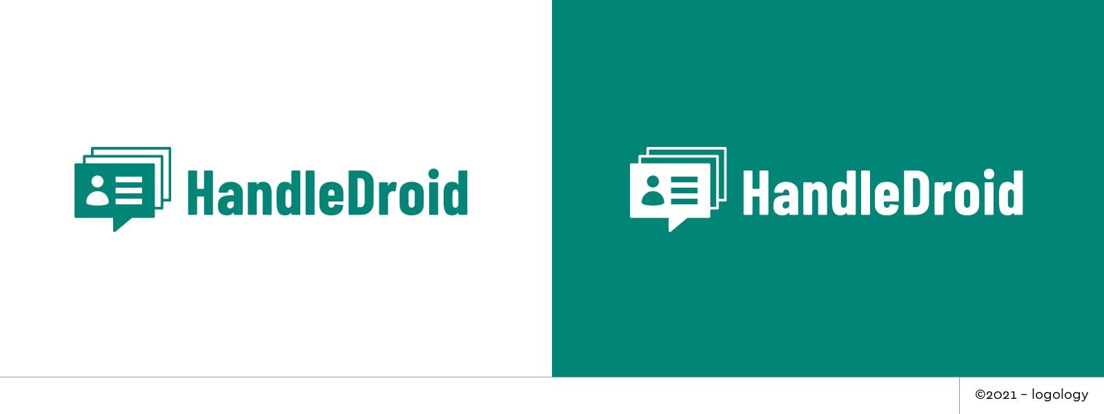 handledroid user identity and bot tracking logo variation