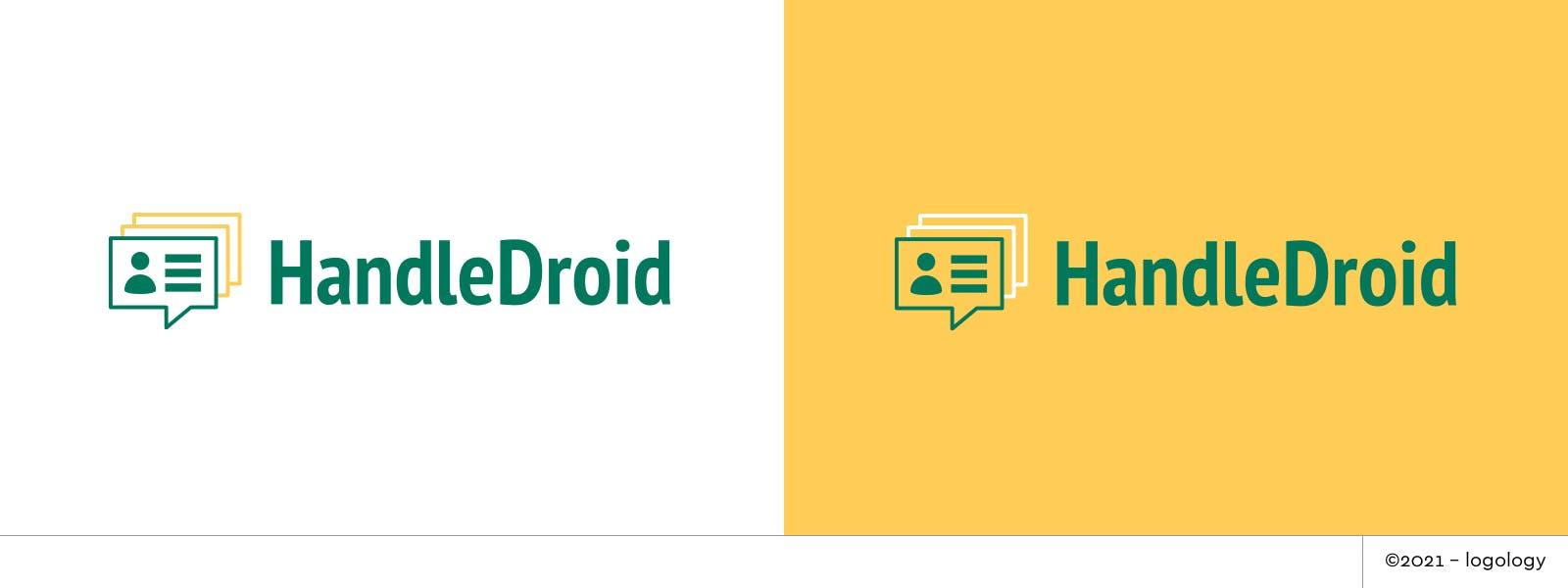 handledroid user identity and bot tracking logo