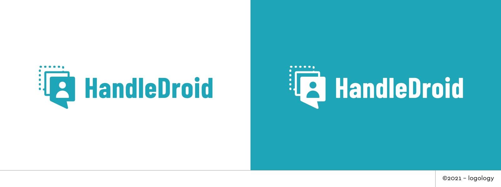 handle droid user profile logo