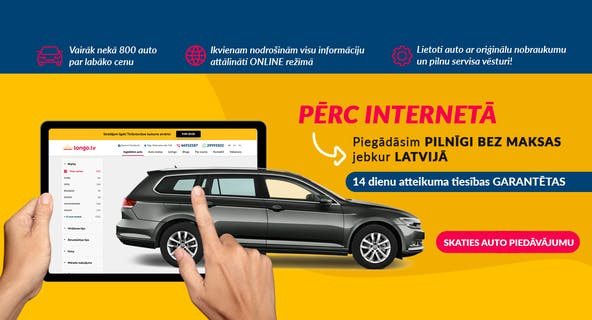 pirkt auto internetā