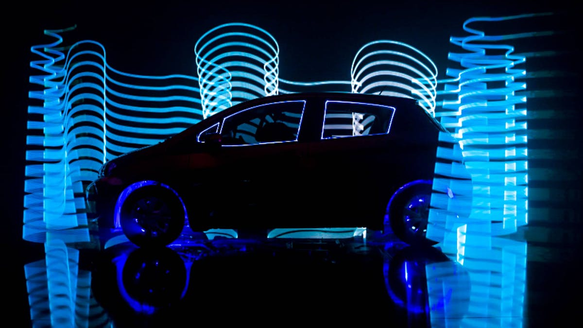 Car branding with lights and LED