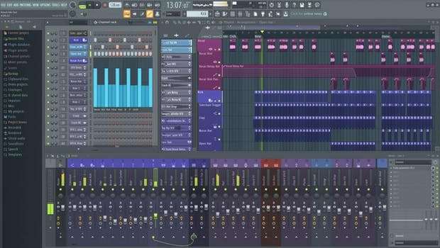 FL Studio Screenshot Looping Software