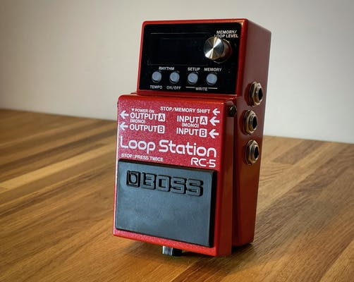 loop station recensione relazione loopstation confronto boss rc5 test rhythm looper