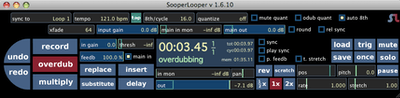 SooperLooper Looping Station App Mac