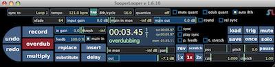 SooperLooper Looping Station App Mac