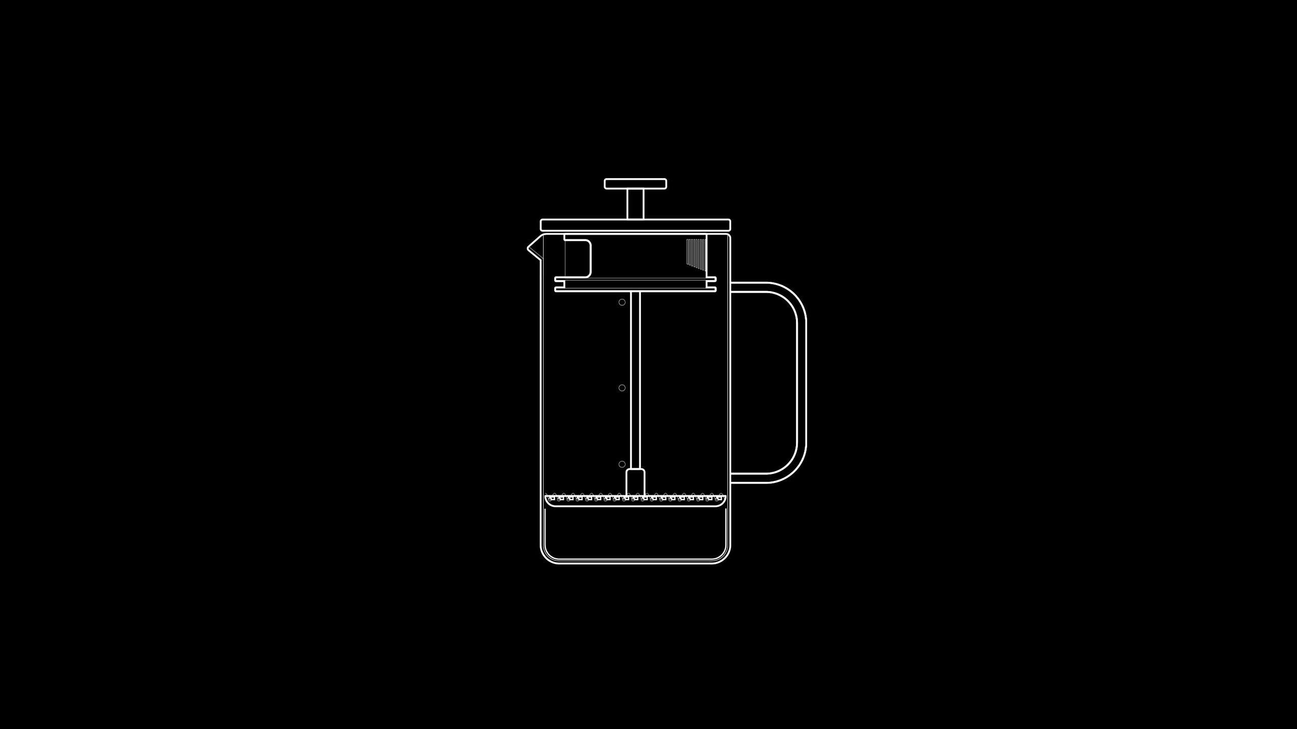 Easy to brew and super consistent, the French Press is very reliable. It's classic and well-engineered design hasn't changed much since its invention in 1929, and it's perfect for making multiple cups of heavy-bodied coffee in 4 minutes.