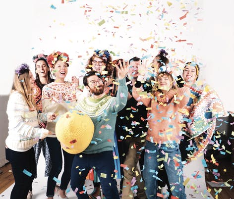 Paintbox Yarns Influencers Confetti