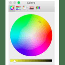 Fill in the colour