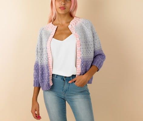 Buttons Paintbox Confetti Cardigan