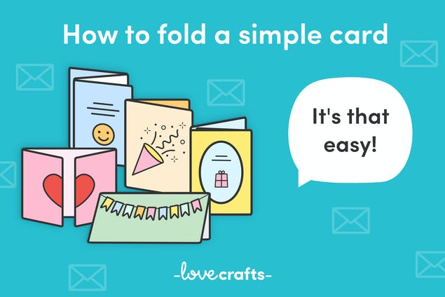 How to fold a simple card