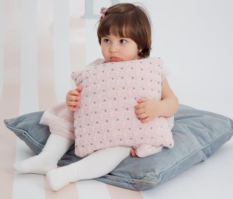La La Cushion from Sugar pattern collection from MillaMia