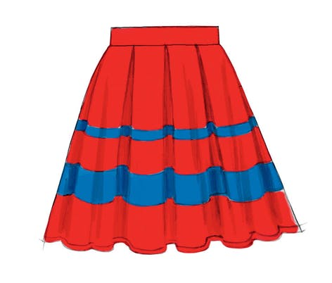 McCall's Misses' Skirt