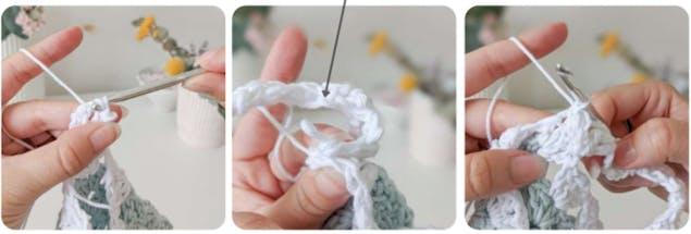 Crochet crop top 13