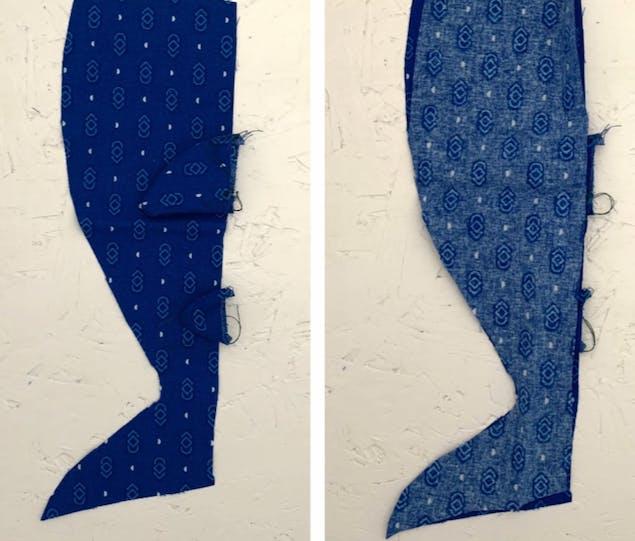 Shark toy fabric