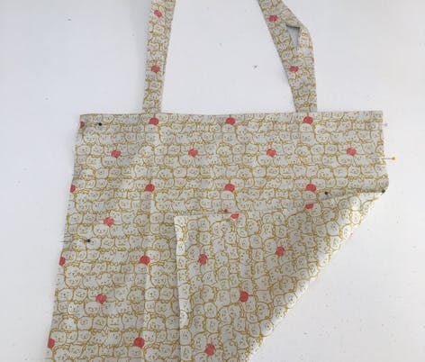 Sewing your tote bag together