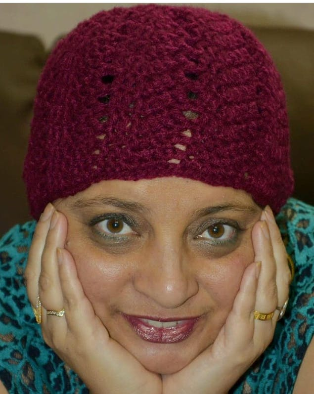 Haseeta of Amazing Knitting and Crochet Facebook Group
