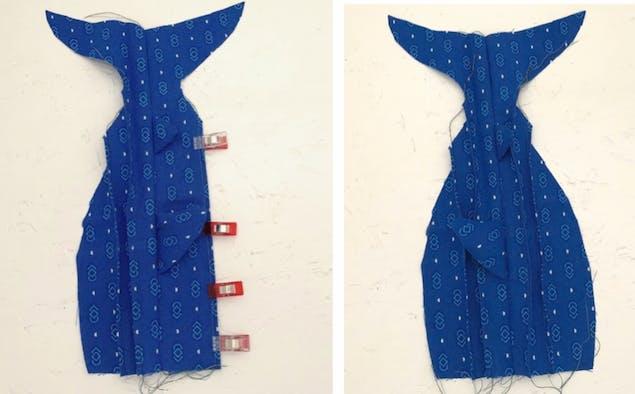 Shark soft toy fabric 3