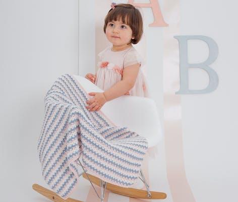 MillaMia Ku Ku crochet baby blanket pattern from Sugar