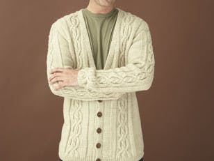 Northshore Cardigan in Lion Brand Wool-Ease - 90191AD