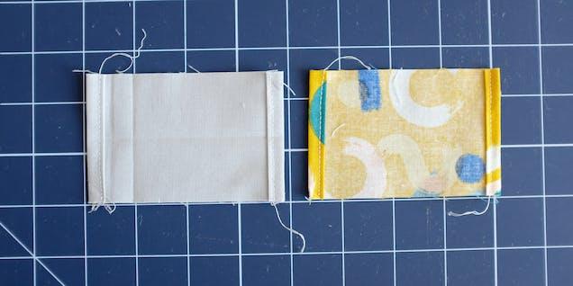 Spring bag drawstring rectangle