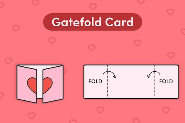 Gatefold card
