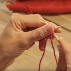 how to purl: how needles where they cross
