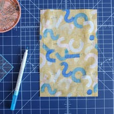 The weekend quilter bag 5 lining