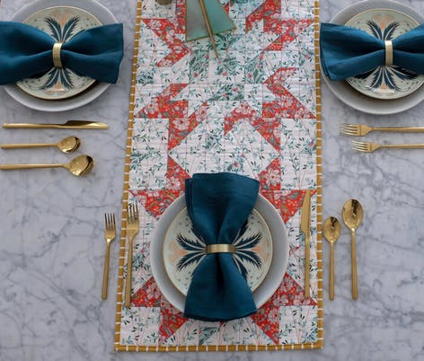 table runner quilting pattern