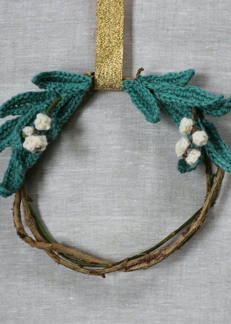 Christmas Mistletoe wreath