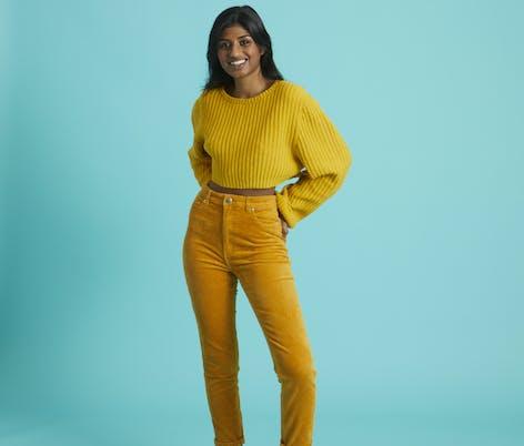Paintbox Cotton 4 ply Sunshine sweater