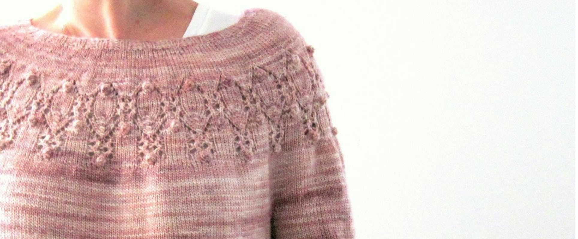 Crochet Daisy Yoke Cardigan Pattern PDF to Email or Posted